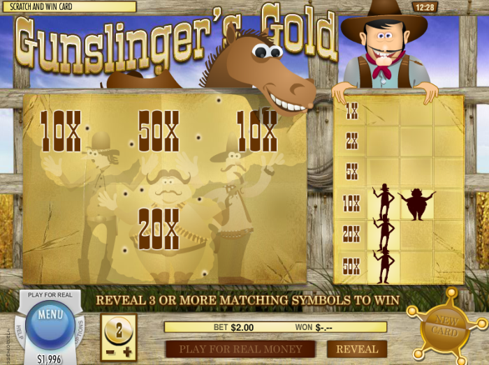 Play scratch cards at Rich Casino